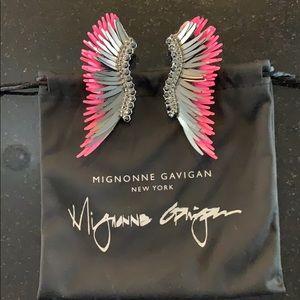 Mignonne Gavigan Madeline Earring Hot PinkCharcoal